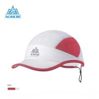 Aonijie E4099 Cap Hat Quick Dry - Topi Sport Lari Sepeda Golf - RED