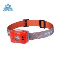 Aonijie E4097 LED 140 Lm Headlight Motion sensor Lampu lari - ORANGE
