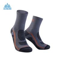 Aonijie E4095 Running Socks - Kaos kaki lari sepeda outdoor- GRAY