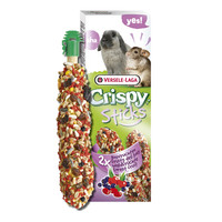 Versele Laga Crispy Sticks Forest Fruit 110gr 462062 Kelinci Hamster