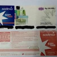 Harga voucher belanja sodexo kelipatan 100 000 sodexo 100 | Pembandingharga.com