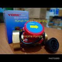 """Otomatis pompa air booster/flow switch york ukuran 1""""x3/4"""""""