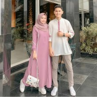 Baju Couple/FARZANA COUPLE AQ001/Dress Couple Murah/Couple Murah