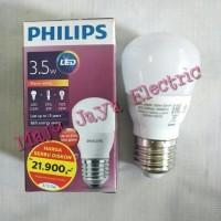 Bohlam Lampu Led Philips 3.5 W Watt Kuning Ww Warm White 3.5W E27