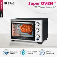 BOLDe Super Oven Diamond Series 20L - Black White