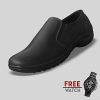 Sepatu Casual Pria S. Van Decka J-MZ09 Free Jam Tangan Sport