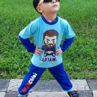 Pajamas Dessan Superhero Captain Chibi