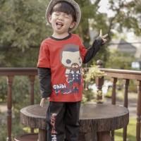 Pajamas Dessan Superhero Thor Chibi