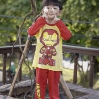 Pajamas Dessan Superhero Iron Chibi
