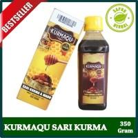 KurmaQu - Sari Kurma Ajwa & Madu Asli 100% Original - Isi 350 Gram