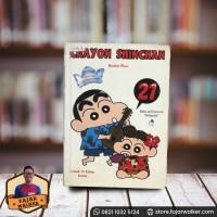 Komik Crayon Shinchan Vol. 21 - Yoshito Ui. Komik Jepang Preloved