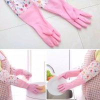 Sarung Tangan Karet Latex Pink