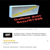 outbow dus / Boss BT238 Double / plastik Outbow dus / tempat saklar