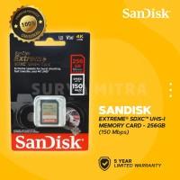 Sandisk SDHC / SDXC Extreme 256GB 150 MB/s