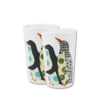 [2 Pcs] ZEN Mug Penguin - 330 mL