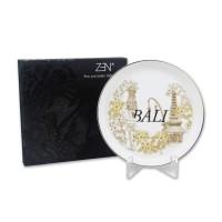 ZEN Piring Bali Edition - diameter 18 cm (Disertai Gift Box)