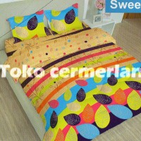 SPRAI lady rose SWEET L NO.1 180 SEPERAI BED SELIMUT BED COVER MURAH
