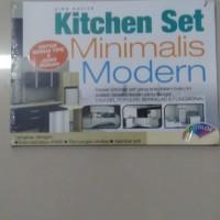 Buku Kitchen Set Minimalis Modern/Intra Griya