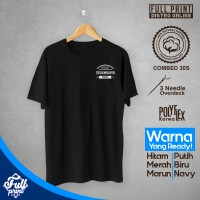 Kaos Distro Native Tasikmalaya People Cotton Combed 30S