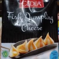 Cedea fish dumpling cheese / Cedea dumpling ikan isi keju 200gr