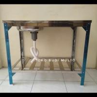 bak cuci piring portable/ kitchen sink royal sb1pk / sink meja kaki