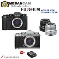 Harga fujifilm x t3 body pwp with fujinon 23mm f2 wr new garansi   Pembandingharga.com