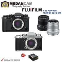 Harga fujifilm x t3 pwp with fujinon 50mm f2 r wr new garansi   Pembandingharga.com