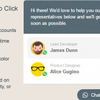 WhatsApp Click to Chat Plugin for WordPress Ordinals Online