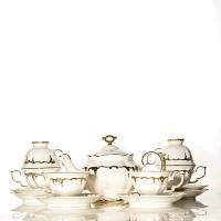 Tea Set Keramik Capodimonte 13 Pcs