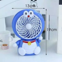 kipas angin karakter duduk LED doraemon hellokitty HK cartoon fan 180