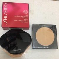 SHISEIDO SHEER AND PERFECT COMPACT & CASE