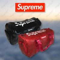 Supreme Duffle PU Leather Tas Berkualitas 1:1 Original