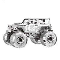 PUZZLE 3D metal KG CAR SERIES - JEEP Off Road GRATIS TWEEZER