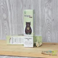 Tropee Bebe Candlenut Oil 70ml - Minyak Kukui untuk Bayi dan Anak