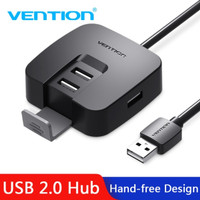 Vention [J51 0.15M] USB HUB 4Ports w/ Micro USb Power & bracket
