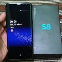 Samsung Galaxy S8 Dual Sim Black Resmi Sein Indonesia