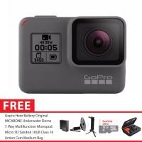GoPro Hero5 / GoPro Hero 5 Black Combo 3 Way Extreme 16GB