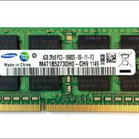 Ram laptop samsung SODIMM 4GB DDR3 DDR3-1333 4G sodim