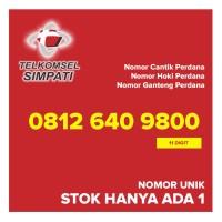 Kartu Perdana SIMPATI Nomor Cantik Hoki Ganteng 08126409800