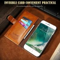 FLOVEME Wallet iphone 7 premium slot card money leather dompet kulit