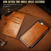 FLOVEME Wallet iphone 8 slot card flip case cover leather dompet kulit