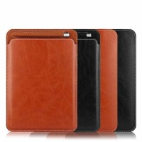 """IPAD 5 9.7"""" 2017 pouch leather sleeve case cover 9.7 inchi inch"""