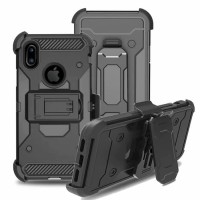 Apple iPhone X - Xs XGEAR Armor Case w/ Holster Full Protection