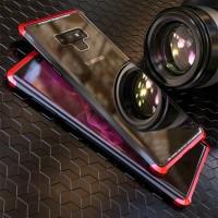 LUPHIE bumper Case Samsung Galaxy Note 9 metal aluminium glass cover