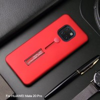 Huawei Mate 20 Pro Silicone Ring Stand Luxury Shockproof Armor Case