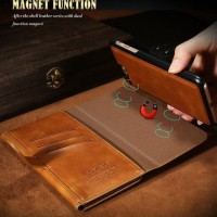 FLOVEME Wallet iphone 6 slot card money leather dompet kulit case
