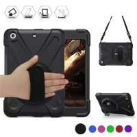 defender case ipad 5 armor strap cover ipad air 1 rugged stand xphase