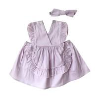 Mosfit Klasika Violet Dress Anak Perempuan
