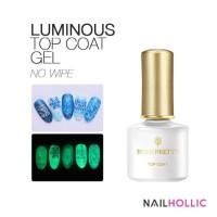 Born pretty luminous top coat gel / glow in the dark top coat gel