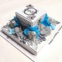 kotak cincin kalung pernikahan